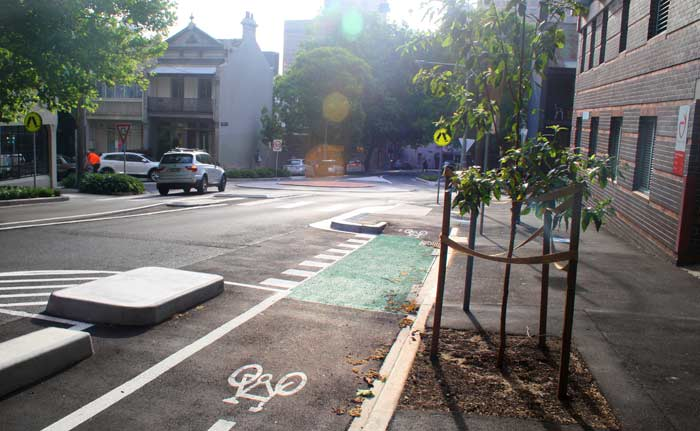 Campbell Street cycleway